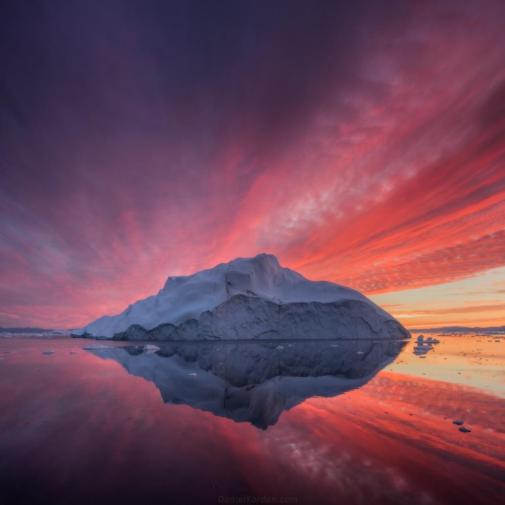Greenland Midnight Sun Photo Workshop In Disko Bay, July